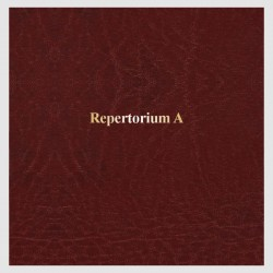 """Repertorium """"A"""" - 100 str."""