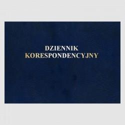 Dziennik korespondencyjny -...