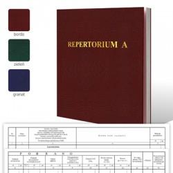 """Repertorium """"A"""" - 300 str."""